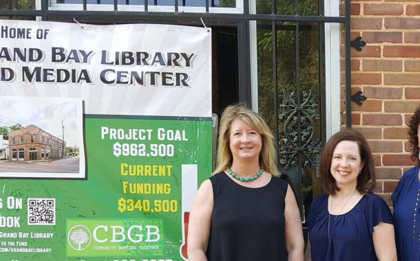 Daniels Foundation Board Visits Library