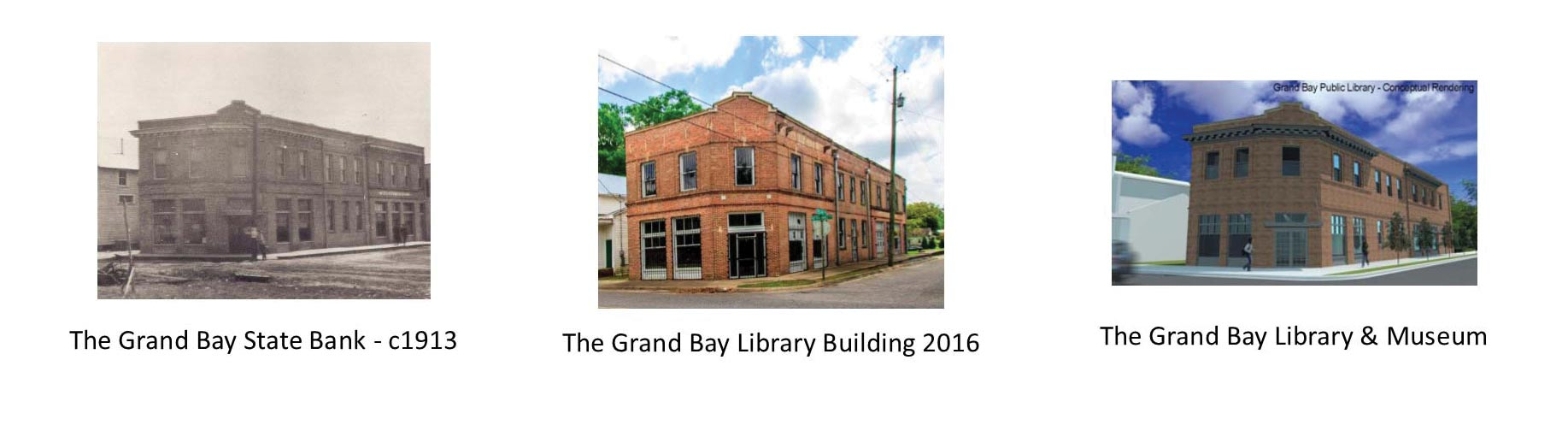 Grand Bay Library Receives $10,000 Grant