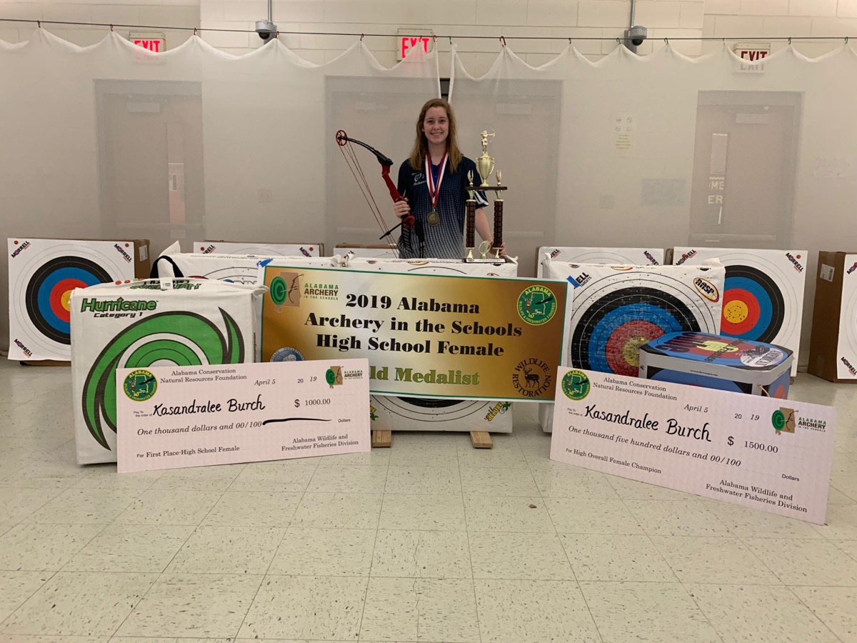 2019 Alabama Archery Champions
