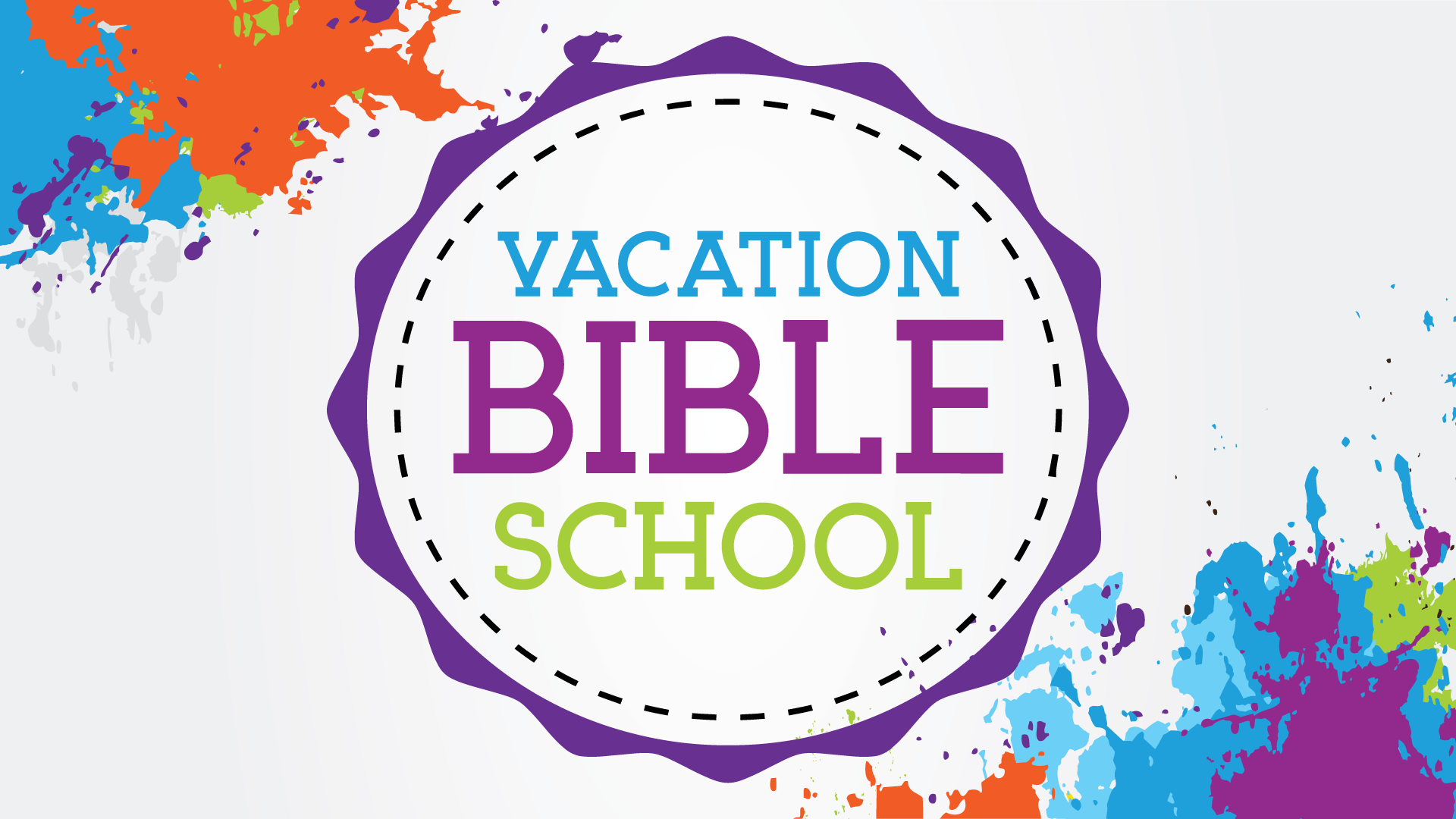 Vacation Bible School Summer 2019