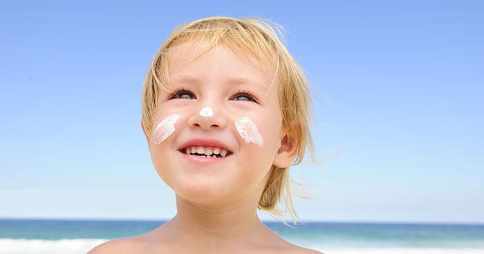 Kids and Sunscreen