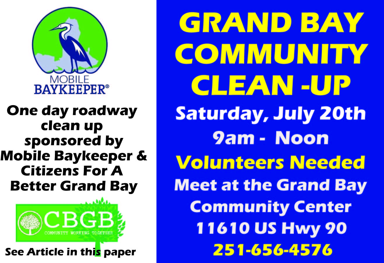 Grand Bay Community Clean-Up